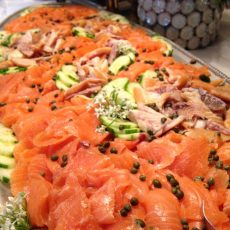 catering smoked salmon