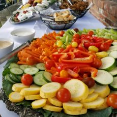 crudite vegetables