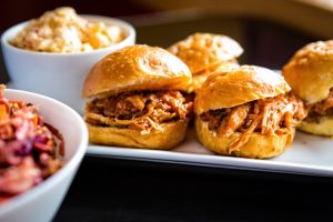 Pulled Pork Sliders Catered